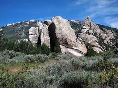 Rock Climbing Photo: Kid Rock from near the parking lot...