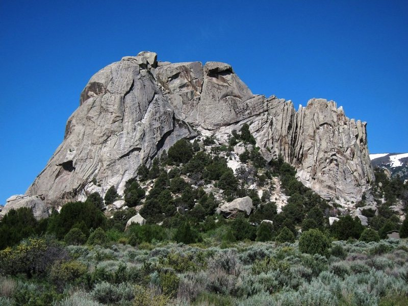 Rock Climbing Photo: Castle Rock East Face