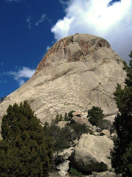 Rock Climbing Photo: South side of Castle Rock