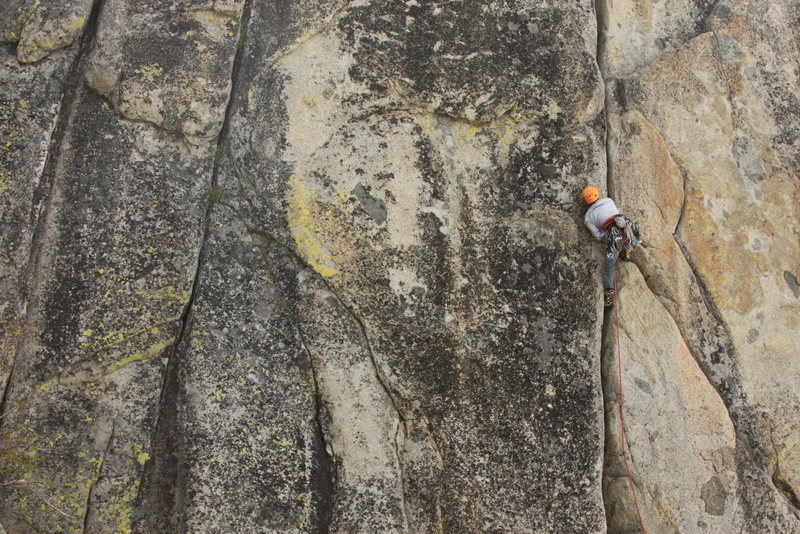 Rock Climbing Photo: The beautiful east face of Snowshed.