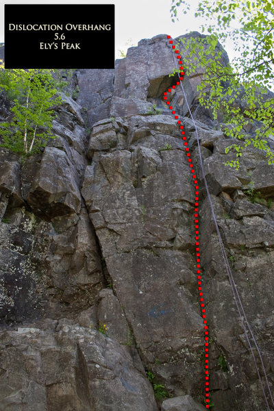 Dislocation Overhang