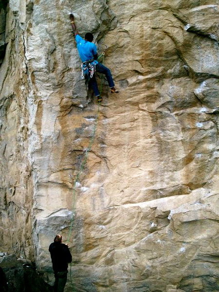 Rock Climbing Photo: Starting Nostalgia (5.11c).