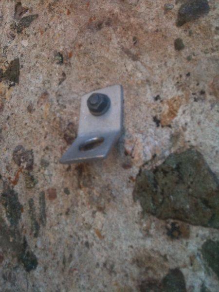 Rock Climbing Photo: 2nd bolt on Slot Machine.