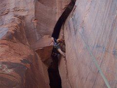 Rock Climbing Photo: Ahh, a nice rest spot.