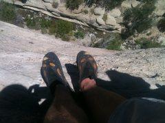 Rock Climbing Photo: Chillin at Devils Punchbowl