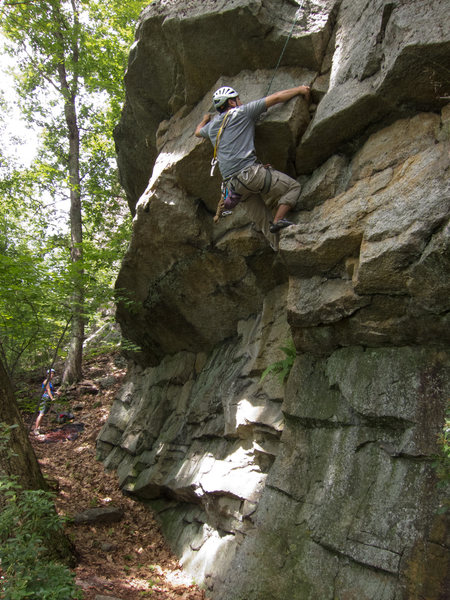 Rock Climbing Photo: TRing the direct start of You're In The Wrong Plac...