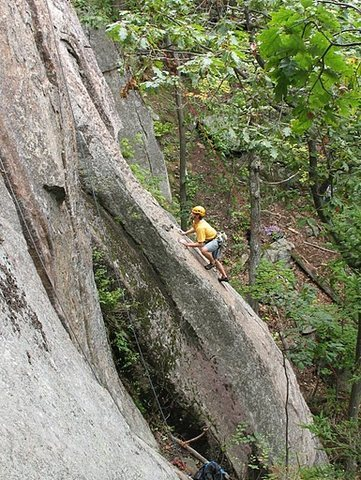 Rock Climbing Photo: Jeremy Haas on Critical Crimps. At least I'm prett...