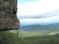 Rock Climbing Photo: View from Black Arches Wall. Yeah, you do have to ...
