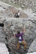 Rock Climbing Photo: tandem warm ups