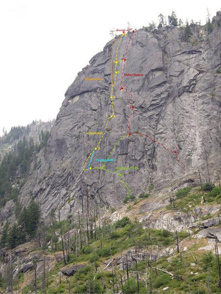 Snow Creek Wall