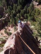 Rock Climbing Photo: Rebuffat's Arete