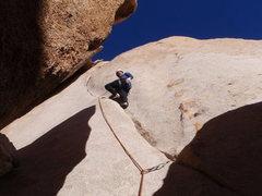 Rock Climbing Photo: Roger Harris on Buissonier, The Blob