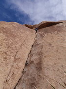 Rock Climbing Photo: Pope's Crack, Echo Rock