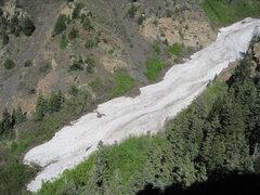 Rock Climbing Photo: View from Steort's June 2011