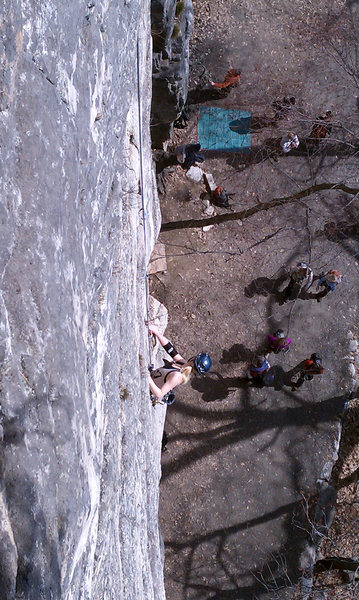 Yelled greetings from the carriage road can be quite distracting on this route.