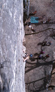 Rock Climbing Photo: Yelled greetings from the carriage road can be qui...