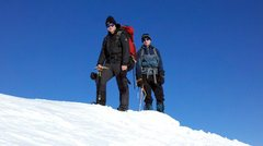 Rock Climbing Photo: Bro and I on Goat Mtn