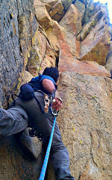 Rock Climbing Photo: Easy as your best friends sister start