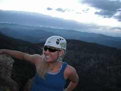 Rock Climbing Photo: Top of the first flatiron