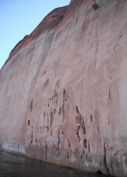 Lake Powell - Deep Water Soloing