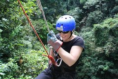 Rock Climbing Photo: Rappelling in Arenal, Costa Rica