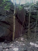 Rock Climbing Photo: Side angle of the wall within the hole...