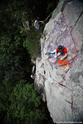 Rock Climbing Photo: The Lost Face. Climbers and Photographers working ...