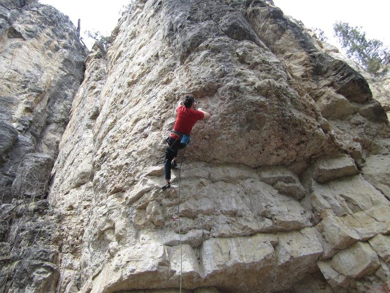 Rock Climbing Photo: #5