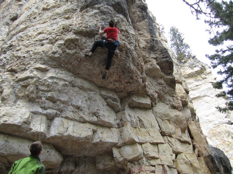 Rock Climbing Photo: last shot