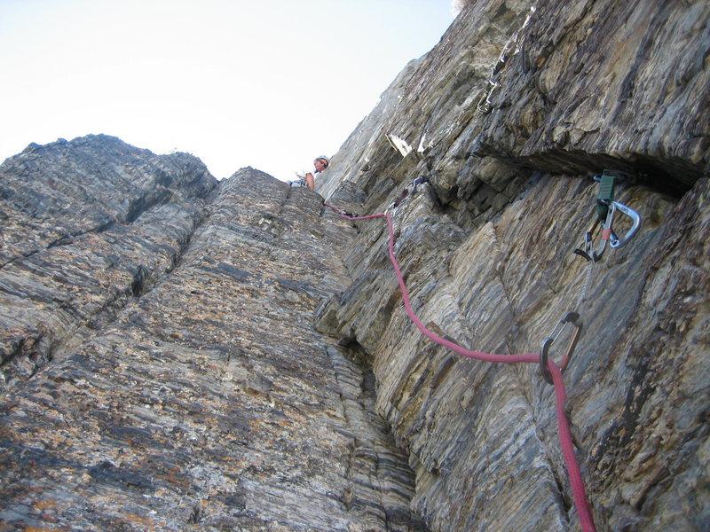 Rock Climbing Photo: Good Gear, Good Cracks, Even GOOD ROCK! on Western...