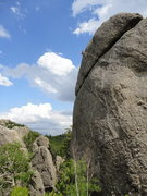 Rock Climbing Photo: T Melin settling into Anaphylactic shock. Photo: A...