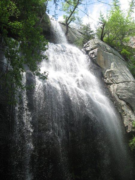 Rock Climbing Photo: the falls.