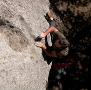 Rock Climbing Photo: Priest Draw topout