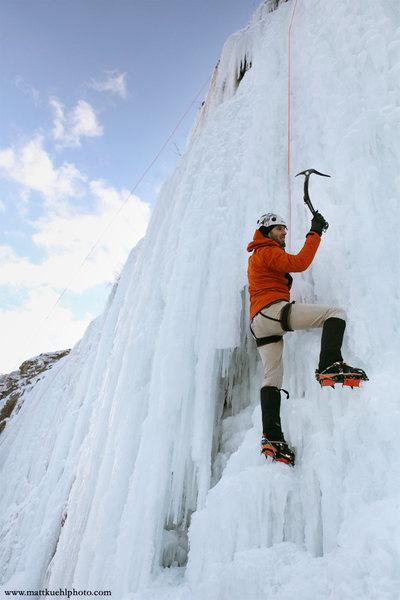 Rock Climbing Photo: Peter Beck at Ice Fest 2011. Photo Matt Kuehl