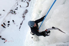 Rock Climbing Photo: Lindsey Gram. Ice Fest 2011. Photo Matt Kuehl
