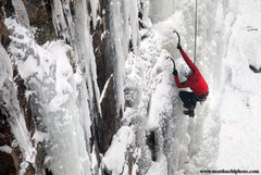 Rock Climbing Photo: Jon Jugenheimer. Sandstone Ice Fest 2010. Photo Ma...