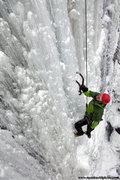 Rock Climbing Photo: Sandstone Ice Fest 2010. Photo Matt Kuehl