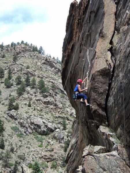 Rock Climbing Photo: Nice setting.
