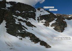 Rock Climbing Photo: Show exacts of climb, ski and avy created by rockf...