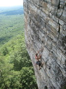 Rock Climbing Photo: Jesse on Doublissima June 30, 2011
