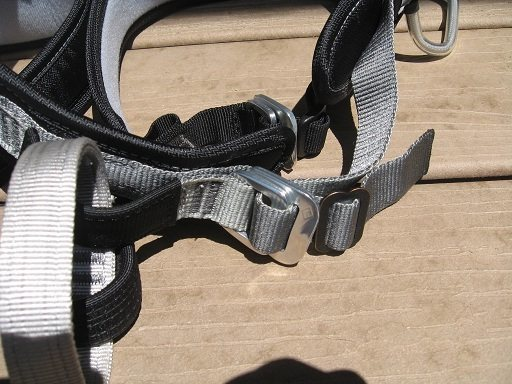 Rock Climbing Photo: BD harness mod