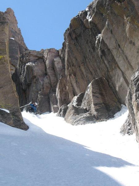 Rock Climbing Photo: Andy Dimmen.