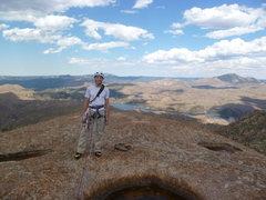 Rock Climbing Photo: Summit of Sheep Rock, S. Platte, CO.
