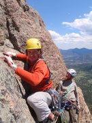Rock Climbing Photo: Grapevine, beginning pitch 5