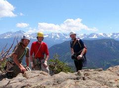 Rock Climbing Photo: Atop Sundance Buttress