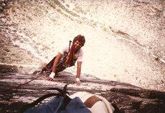 Rock Climbing Photo: Paul Cornia nearing belay, 4th pitch of Colorado C...