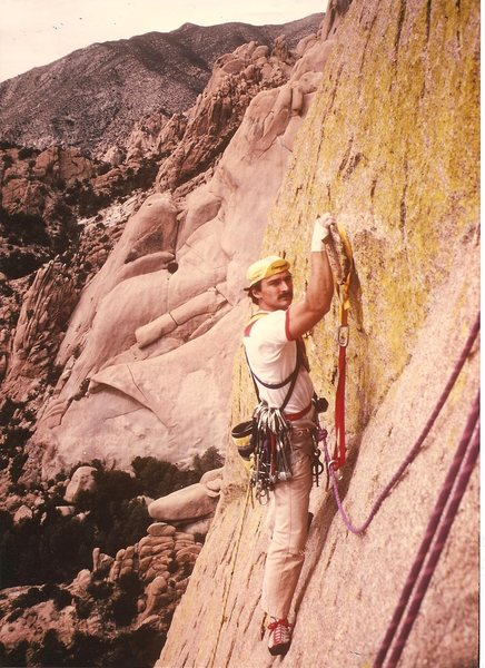 JB starting pitch 3, Days of Future Passed, Stronghold, Mar 1985.