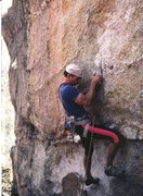 Rock Climbing Photo: Some sport route on Mt Lemmon ?  Judging by my att...