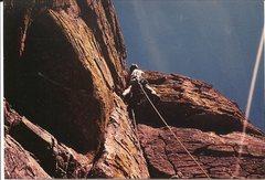 Rock Climbing Photo: Paul Cornia, Pitch 4, Birdman (Aves Tower), Bear C...
