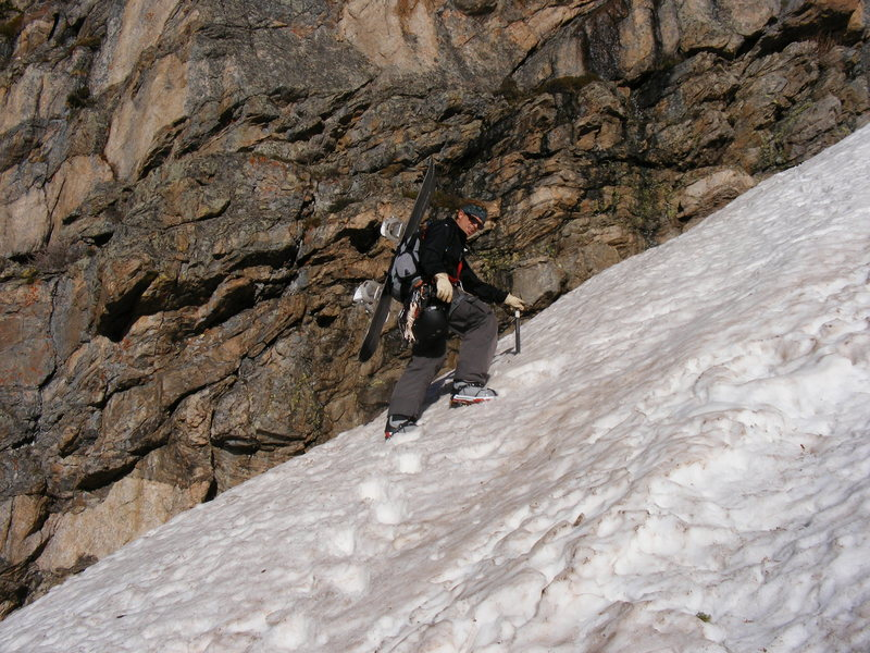 June ascent of Dragon's Tail.